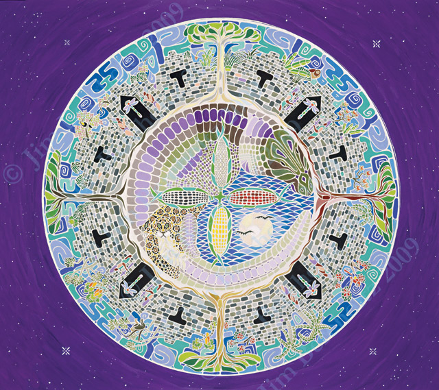 Maya Cosmos Mandala