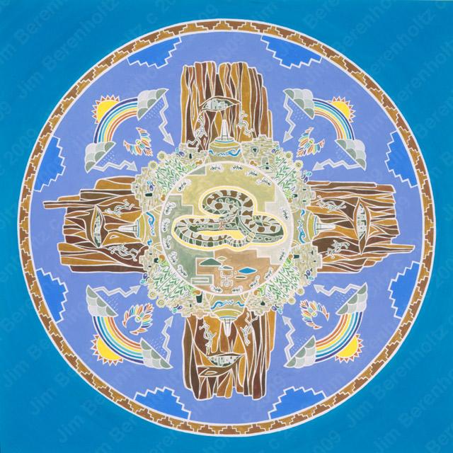 Kokopelli Mandala