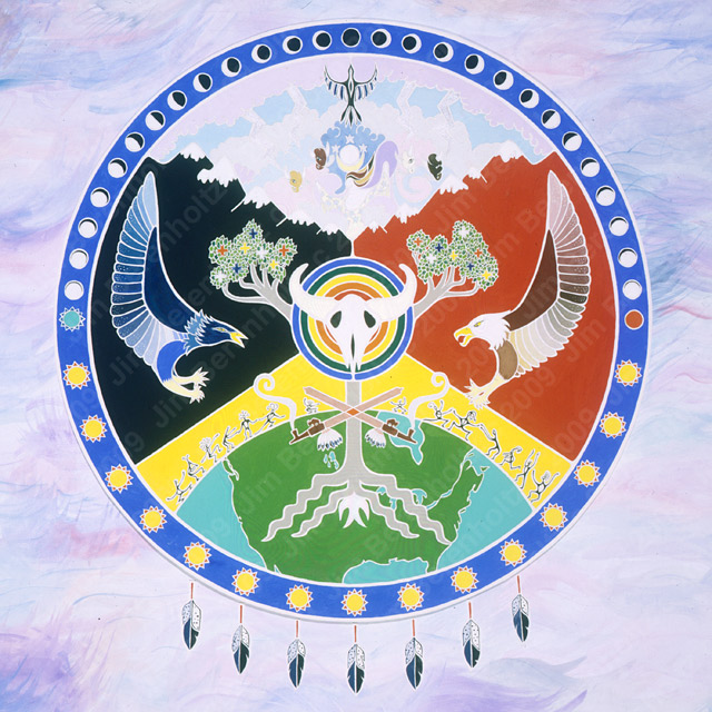 White Buffalo Woman Mandala