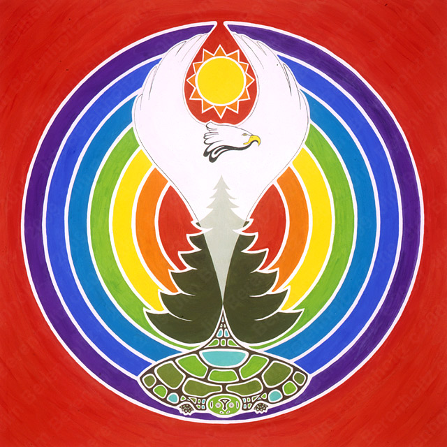 White Eagle Mandala