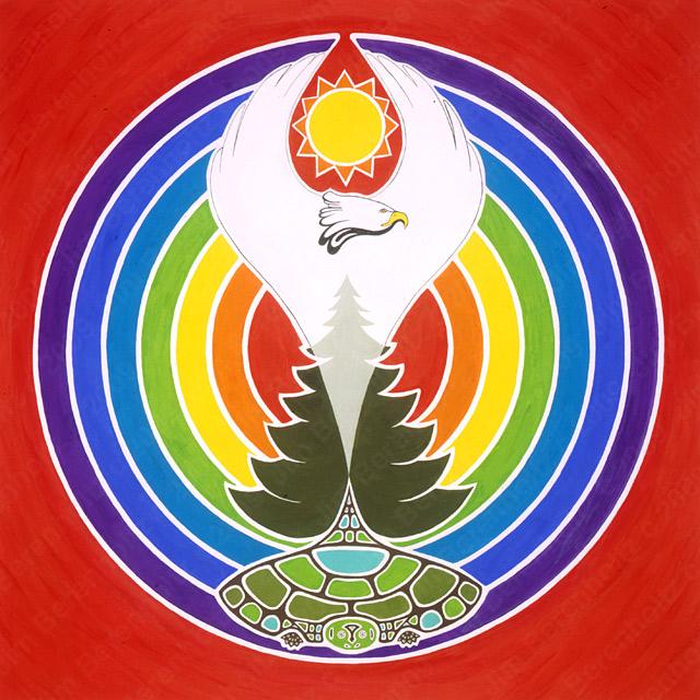 White Eagle Mandala