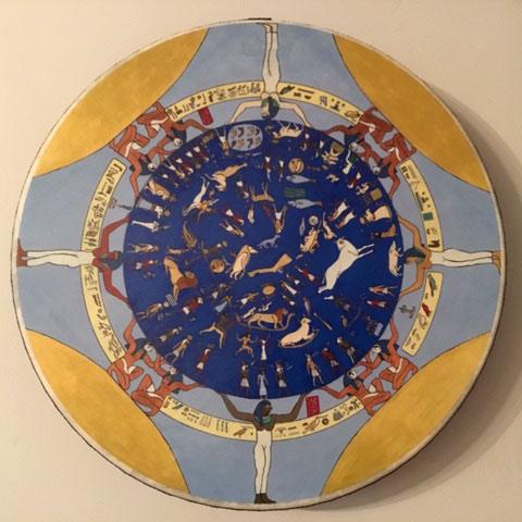 Egyptian Zodiac Drum