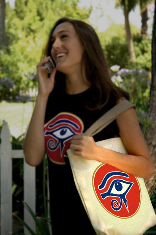 Eye of RA Book Bag