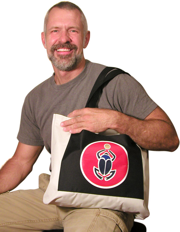 Scarab Tote Bag